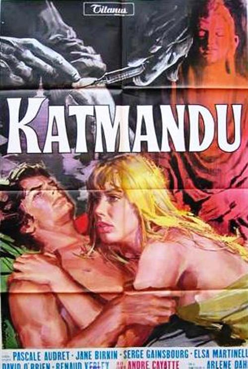 Katmandú (cartel en castellano)