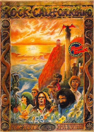 Rock Comix portada Greatefould dead