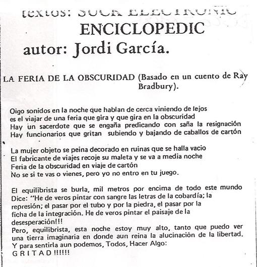 Letra de La Feria...