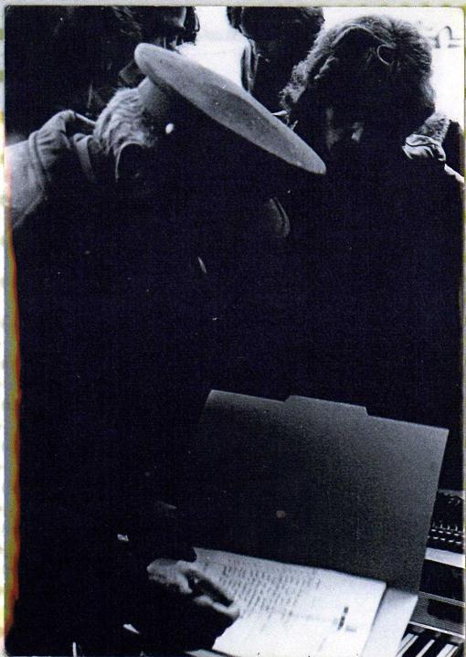 Ángel Galcerà y un agente de Aduanas en Andorra ' 76