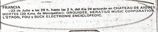 AIGÜES MORTES Disco Expres 77