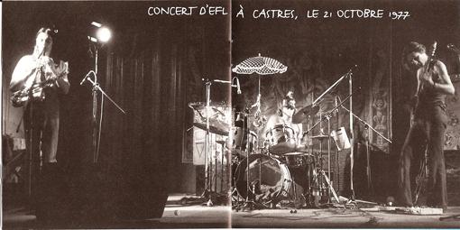 ETRON FOU LELOUBLAN '77     Francis Grand, Guigou Chenevier, Ferdinand Richard