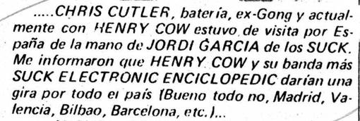 Disco Expres agosto'77