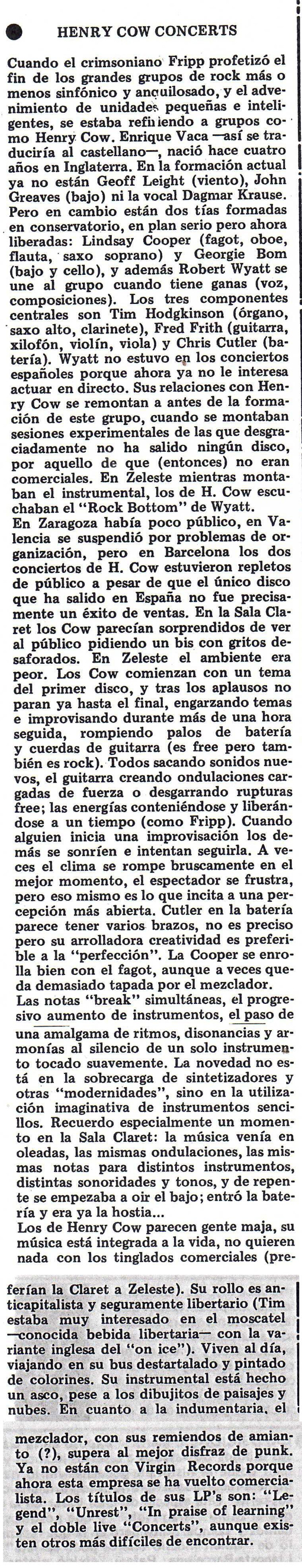 Crítica de Frank X. Puerto (Star)
