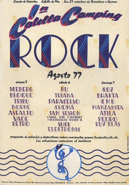 Cartel Calella 1977