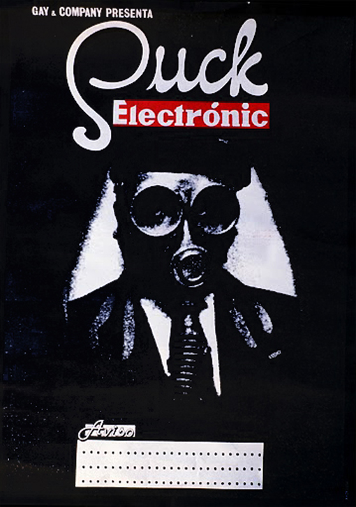 Suck Electrónic 1978 (Cartel de Manel Rubiales)