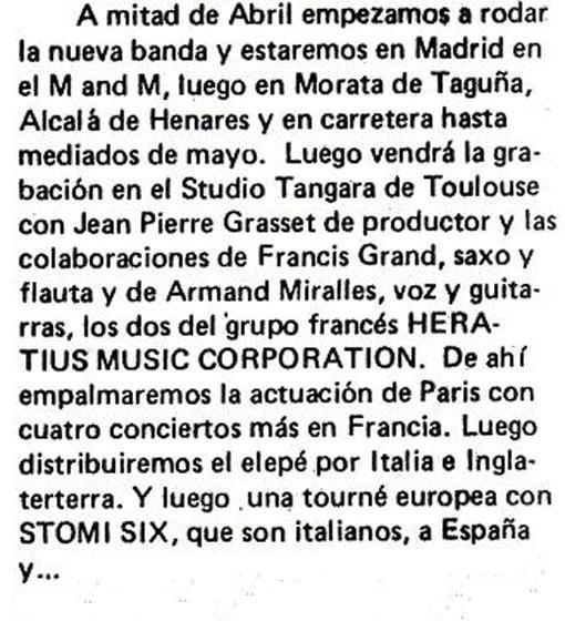 Entrevista J. García por J. Tardà (Disco Expres'78)