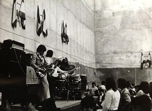 Black Steam en Fiestas del barri de  Sta. Eulalia, Barcelona, 1972