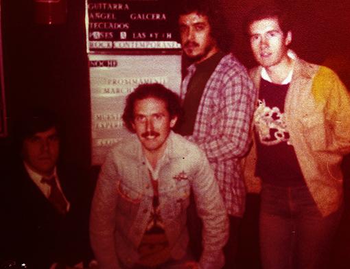 Adictonía en Màgic 1980 (Pepe, Joan Grau, Manolo, JM Ciria)