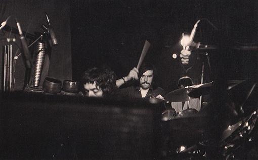 Adictonía. M. Torres, P. Rodriguez, A. Galcerà. Ensayo en Aldana (1979)