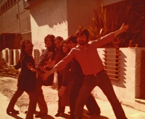 Puerta del Agua 1980 (JM Esteban,Ángel, Pedro Castro, Juani, Pepe, Nacho Herbera)