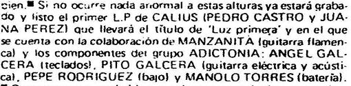 Reseña de Popular 1 (1980)