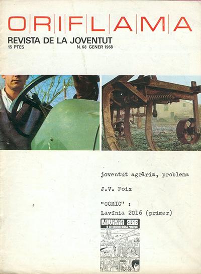 Portada Oriflama Gener 1968