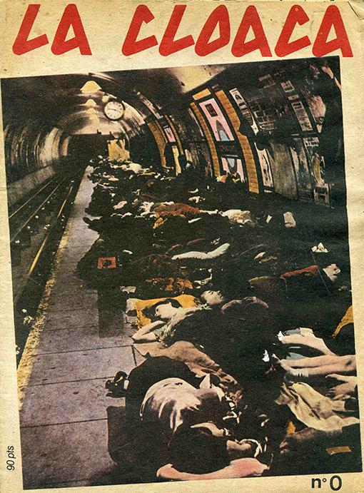 la Cloaca, 1980, portada