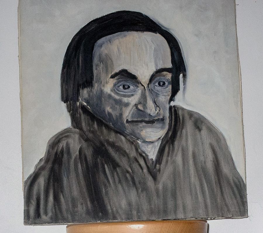 Retrat d'Antonin Artaud per Albert Subirats