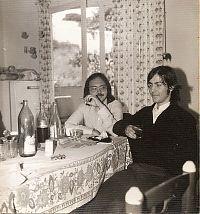 Gato Pérez i Víctor Cortina