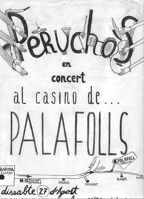Cartell Perucho's per Jordi Graells