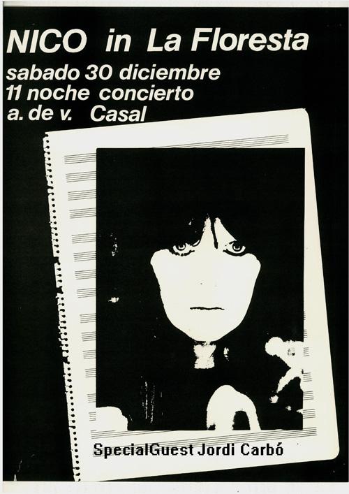 Poster Nico a la Floresta 1978